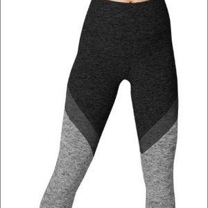 Beyond Yoga Space Dye Tri Panel Midi Leggings